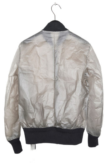 ISAAC SELLAM Transparent Leather Bomber 6