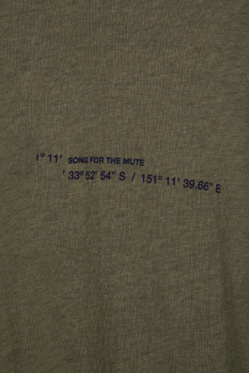 "SONG FOR THE MUTE ""Coordinates"" T-Shirt 2"