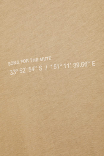 """SONG FOR THE MUTE """"Coordinates"""" T-Shirt daikon 2"""