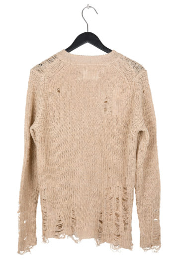 SONG FOR THE MUTE Distressed Knit Sweater 4