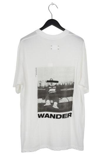 "SONG FOR THE MUTE ""Wander Kid"" Print Raglan Oversized T-Shirt 3"