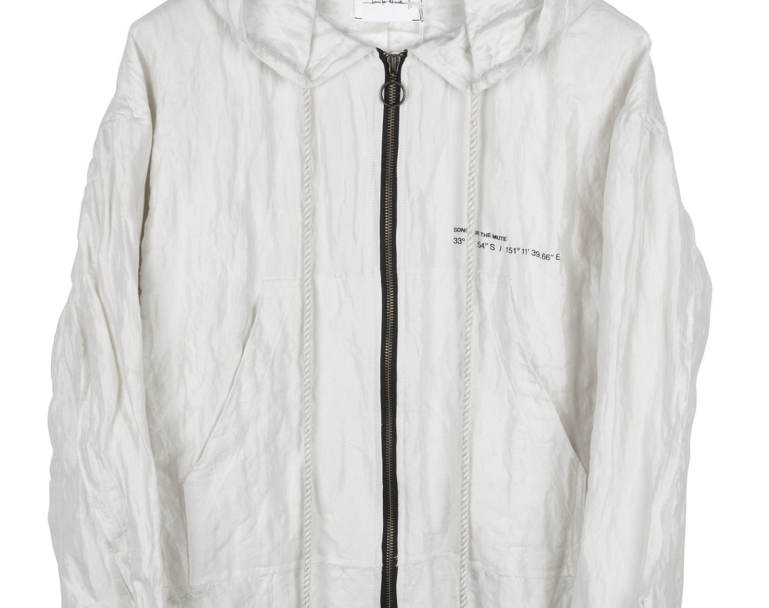 SONG FOR THE MUTE Wander Park Hooded Jacket 1
