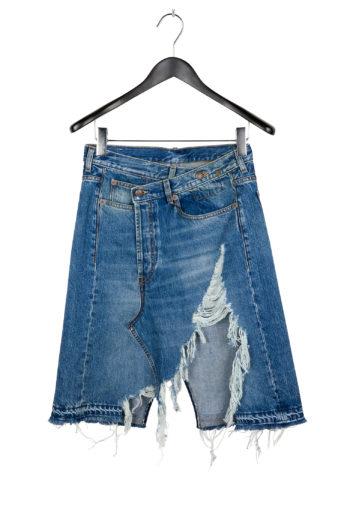 R13 Norbury Denim Skirt Short 1