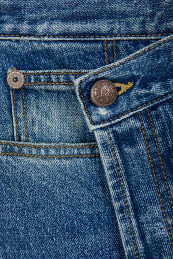 R13 Norbury Denim Skirt Short 2