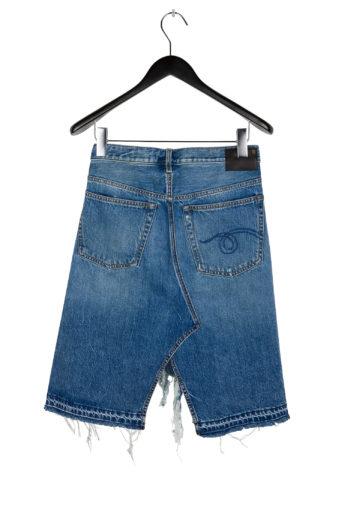 R13 Norbury Denim Skirt Short 4