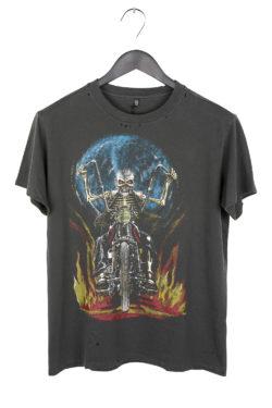 R13 Skull Motor Boy T-Shirt 1