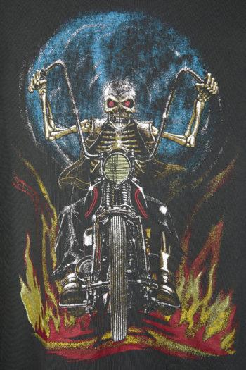 R13 Skull Motor Boy T-Shirt 2