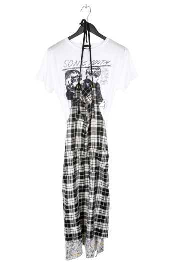 R13 T-Shirt Apron Dress 1