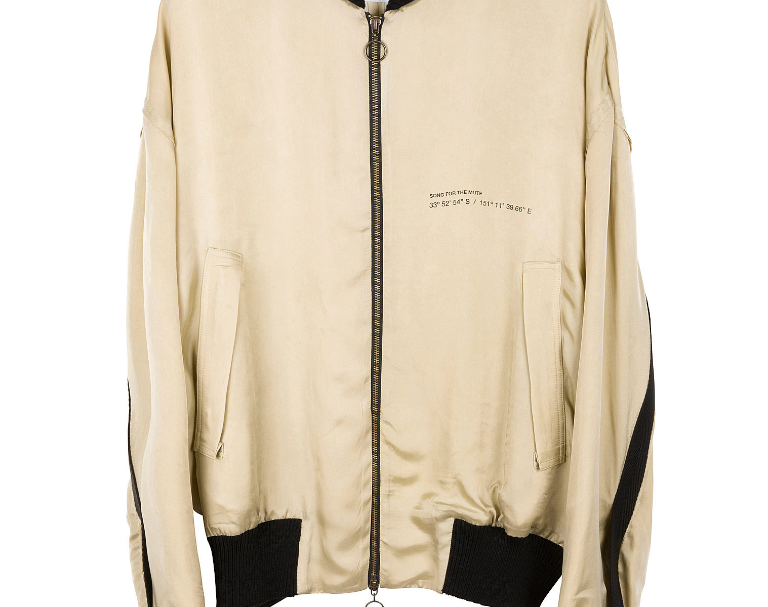 SONG FOR THE MUTE Coordinates Coach Bomber Jacket 1