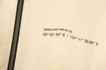 SONG FOR THE MUTE Coordinates Coach Bomber Jacket 3