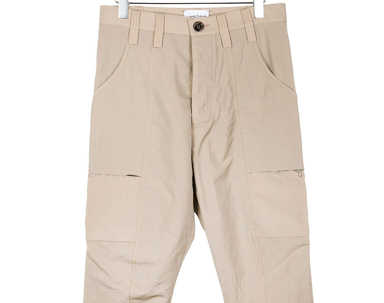 SONG FOR THE Kick Cropped Cargo Pant 1