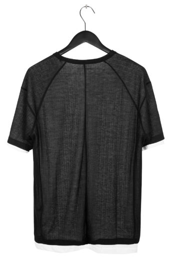 THE VIRIDI-ANNE Double Layer T-Shirt 4