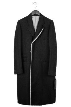 THE VIRIDI-ANNE Selvedge Long Coat 1