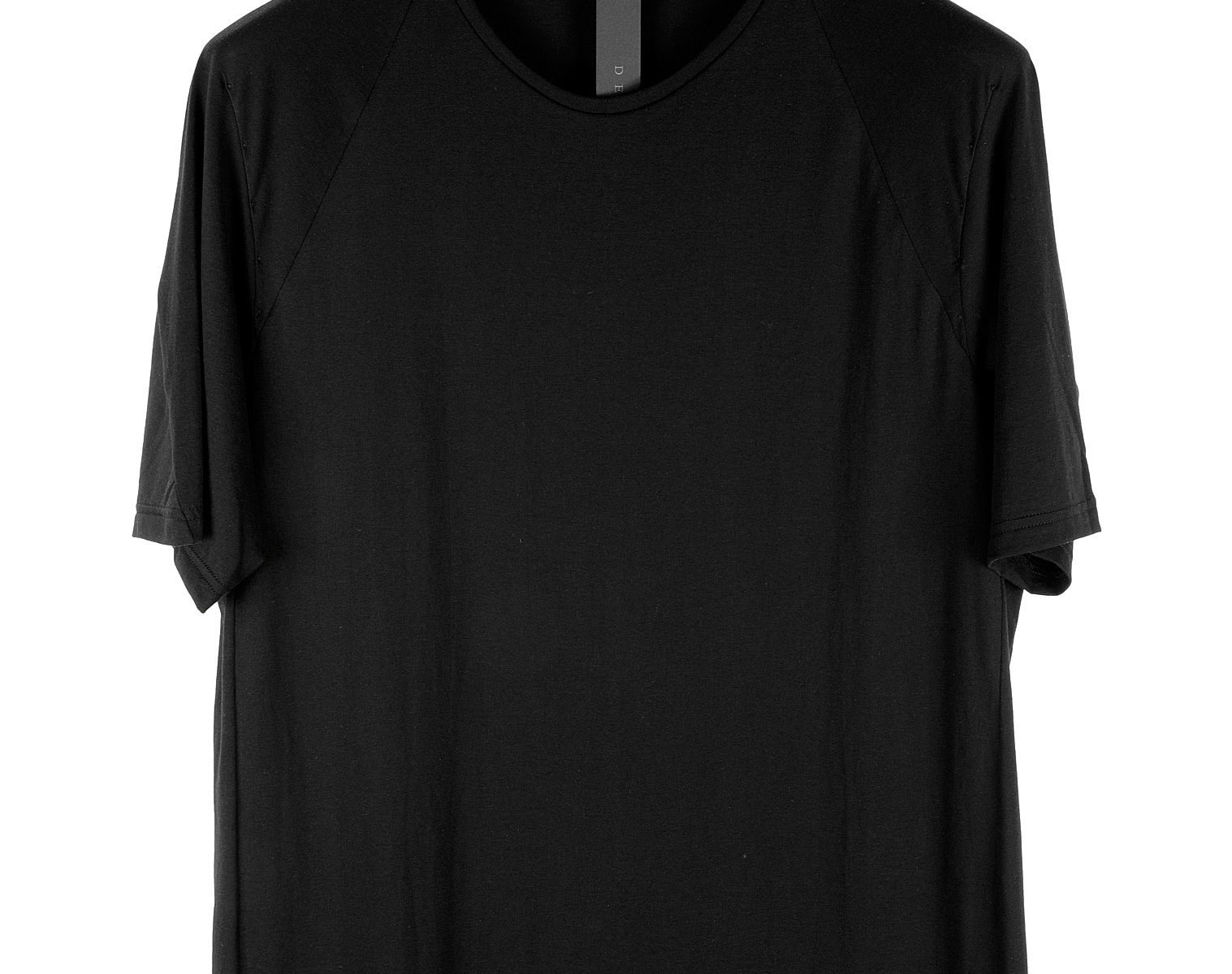 DEVOA Curved Hem T-Shirt 01
