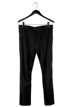 DEVOA Darted Knee Curved Stretch Pant 01