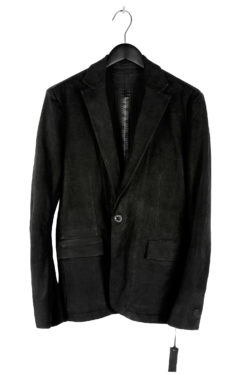 ISAAC SELLAM Leather Blazer Jacket 01