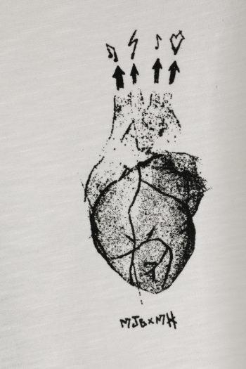 MJB Printed Oleum My Heart T-Shirt 02