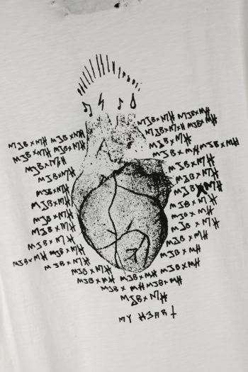 MJB Printed Oleum My Heart T-Shirt 04