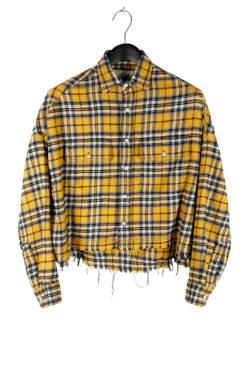 R13 Cropped Work Shirt 01