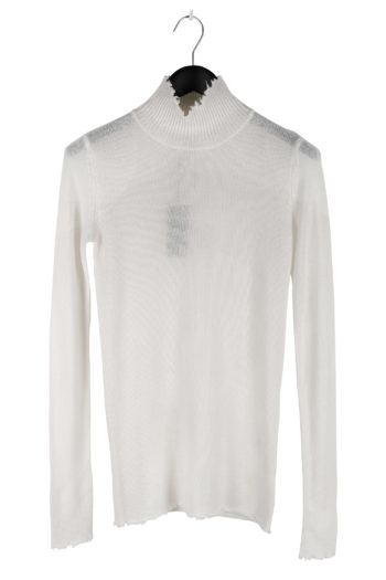 R13 Distressed Turtleneck Cashmere Sweater 01
