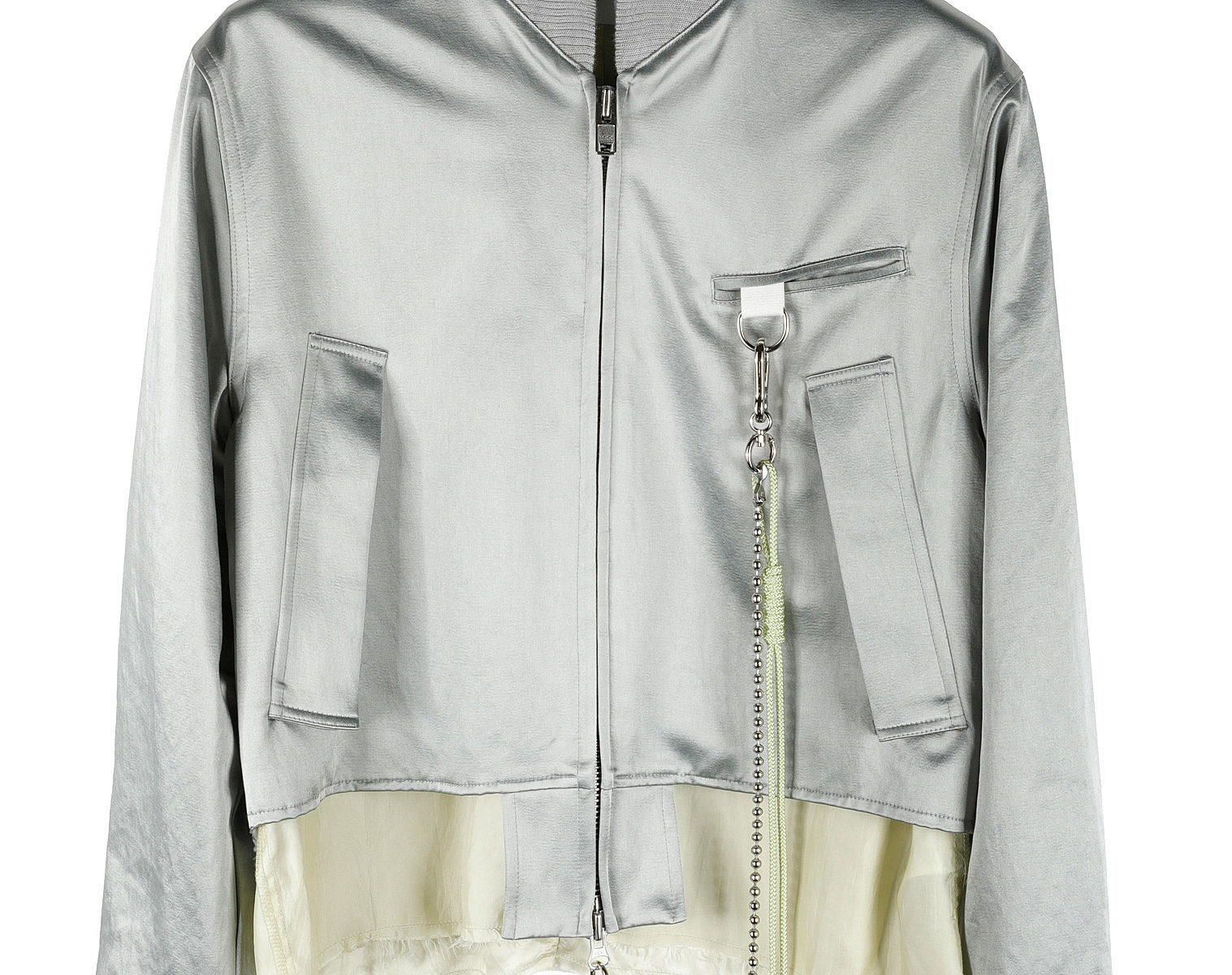 SONG FOR THE MUTE Deconstructed Bomber Jacket 01