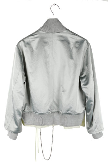 SONG FOR THE MUTE Deconstructed Bomber Jacket 05