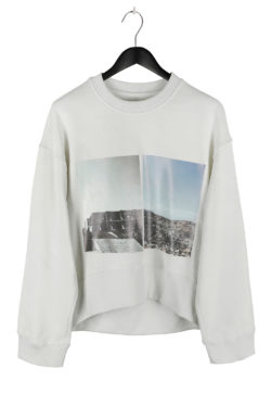 SONG FOR THE MUTE Landfill Cropped Sweater 01