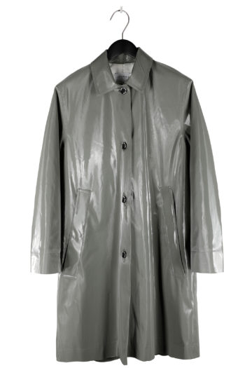 SONG FOR THE MUTE Landfill Padded Reflective Coach Coat 01