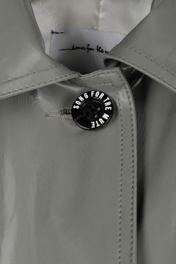 SONG FOR THE MUTE Landfill Padded Reflective Coach Coat 02