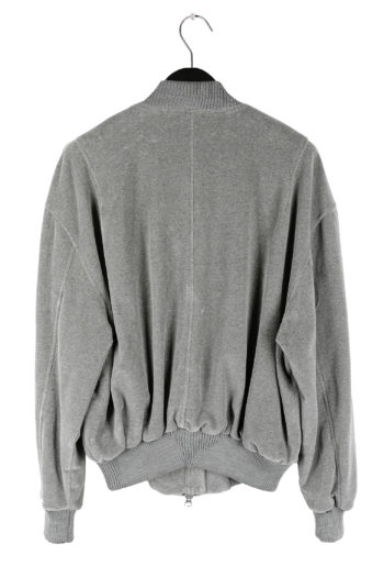 SONG FOR THE MUTE Ribbed Coach Bomber Jacket 05