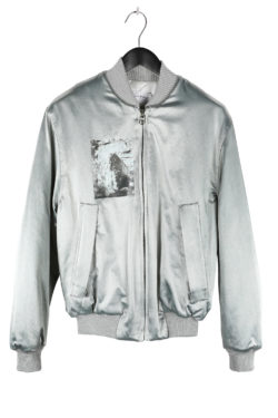 SONG FOR THE MUTE Rock Padded Reversible Bomber Jacket 01