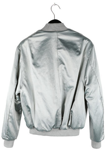 SONG FOR THE MUTE Rock Padded Reversible Bomber Jacket 04