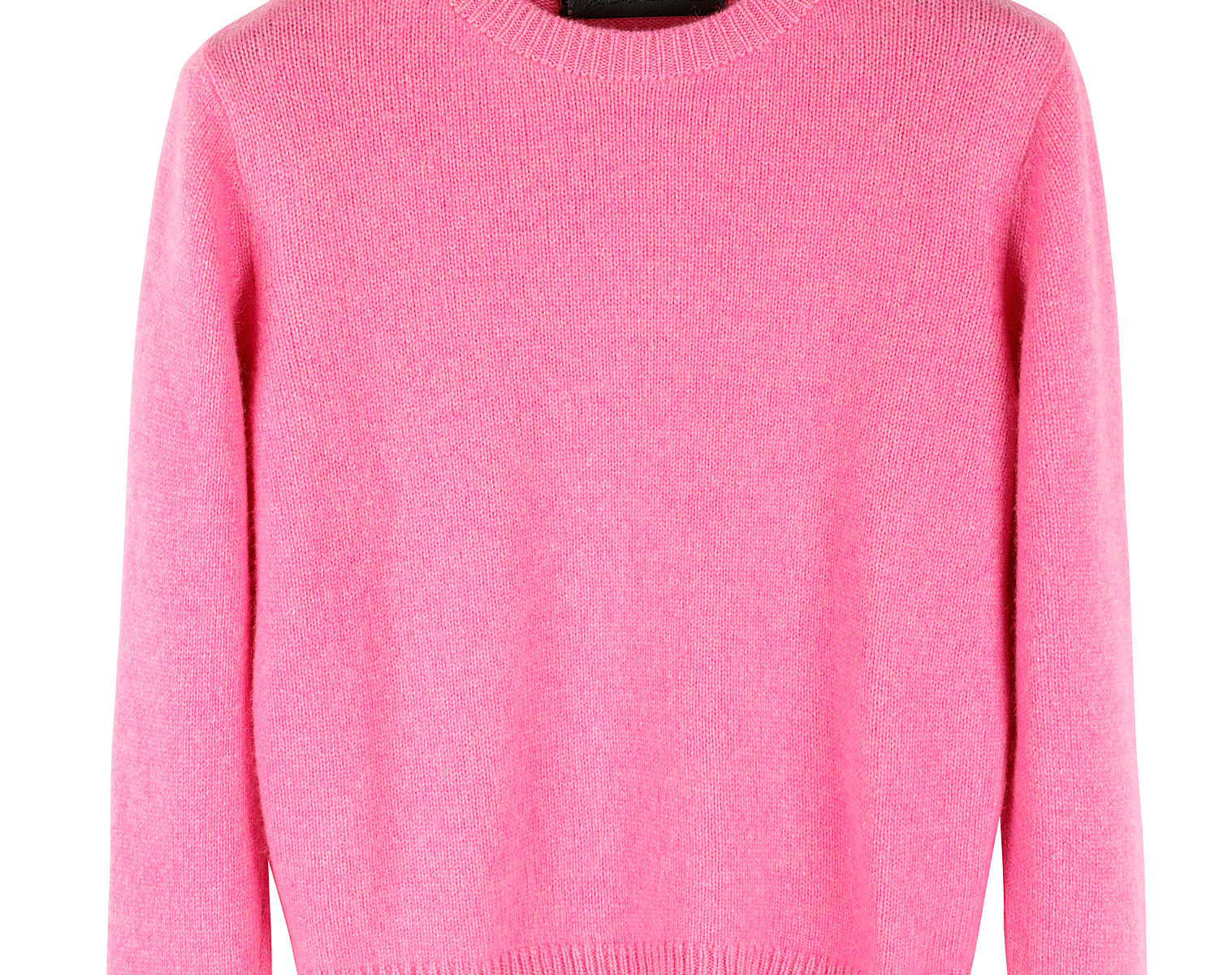 THE ELDER STATESMAN Cropped Sweater 01