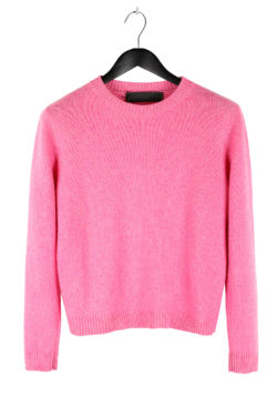 THE ELDER STATESMAN Cropped Sweater 01