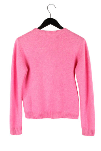 THE ELDER STATESMAN Cropped Sweater 04