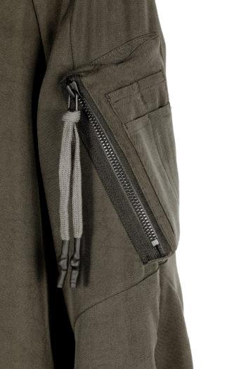DEVOA Silk Hooded Coat 02