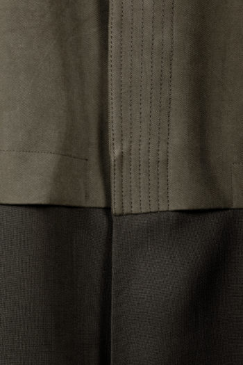 DEVOA Silk Hooded Coat 03