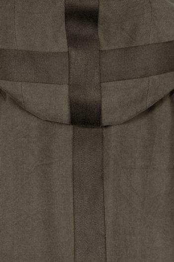 DEVOA Silk Hooded Coat 05