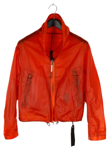 ISAAC SELLA Transparent Leather Jacket 01