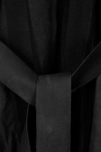 ISAAC SELLAM Leather Kimono Coat 02