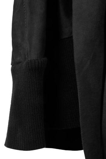 ISAAC SELLAM Leather Kimono Coat 03