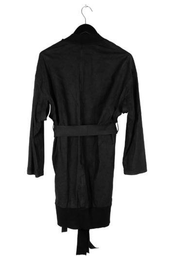 ISAAC SELLAM Leather Kimono Coat 04