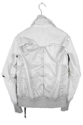 ISAAC SELLAM Leather Parachute Bomber Jacket 03