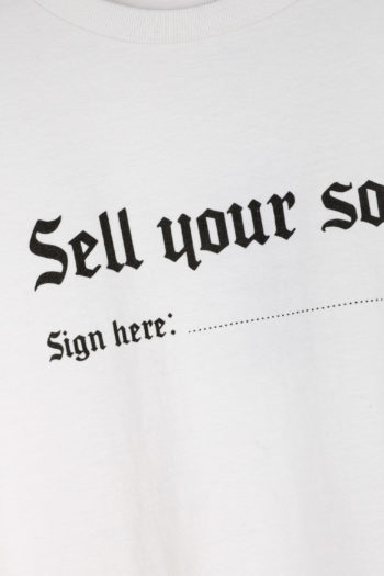 R13 Sell Your Soul Boy T-Shirt 02