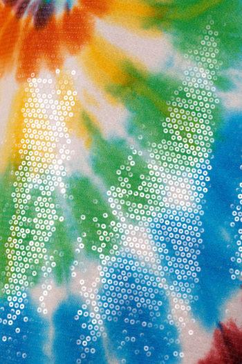 R13 Sequined Tie Dye Rainbow Hoodie 03