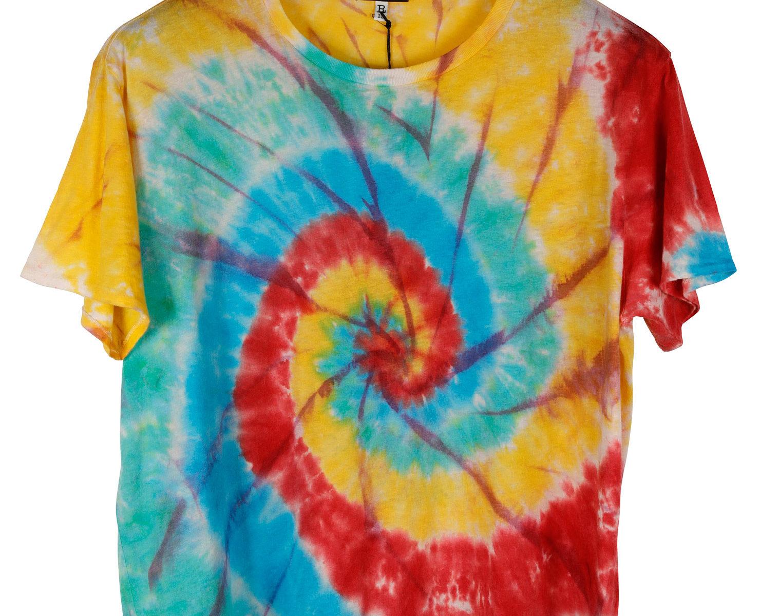 R13 Tie Dye Rainbow Boy T-Shirt 01