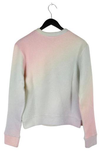 THE ELDER STATESMAN Printed Rainbow Felted Sweater 04
