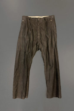 ISAAC SELLAM Relaxed Leather Pant 1 1