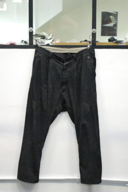 ISAAC SELLAM Relaxed Leather Pant 1