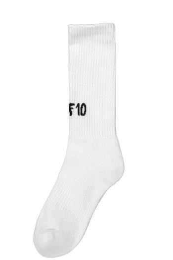 MUF10 Socks white 1